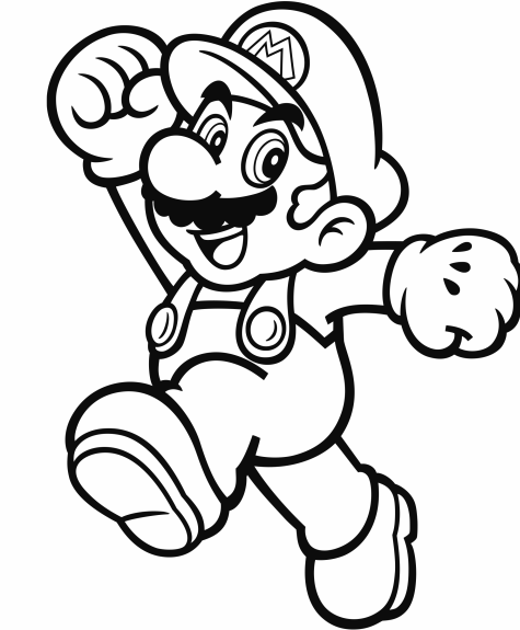 super mario bros printable coloring pages official mario coloring pages gonintendo coloring printable mario super bros pages