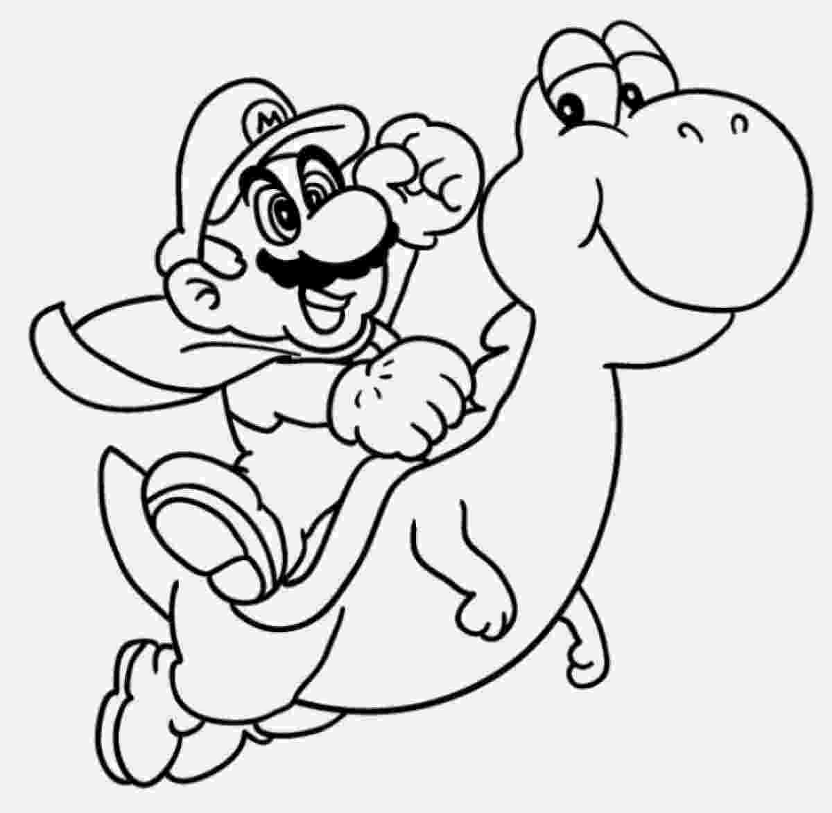 super mario bros printable coloring pages super mario bros 151 video games printable coloring pages mario super pages bros coloring printable