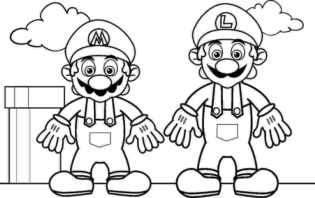 super mario bros printable coloring pages super mario coloring page free printable coloring pages bros super printable pages mario coloring