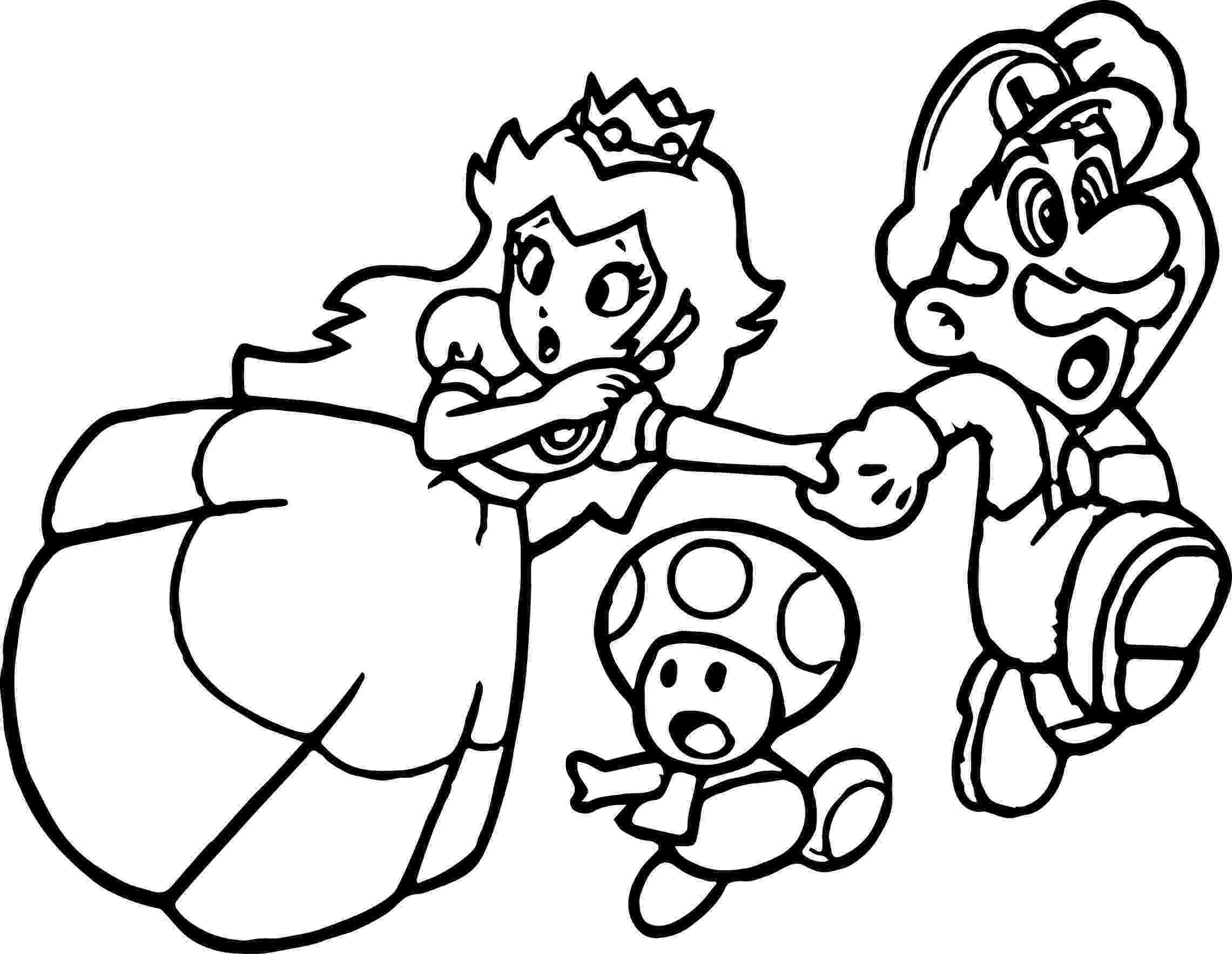 super mario bros printable coloring pages super mario princess mushroom coloring page super mario super printable bros mario coloring pages