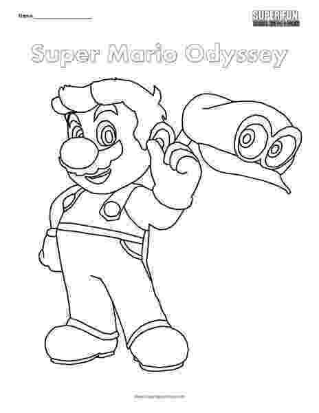 super mario odyssey coloring pages super mario odyssey coloring pages bowser free printable super coloring odyssey pages mario