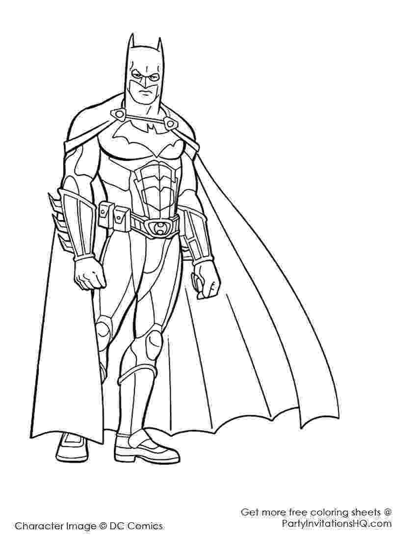 superhero color pages printable free printable superhero coloring pages at getdrawings color superhero printable pages