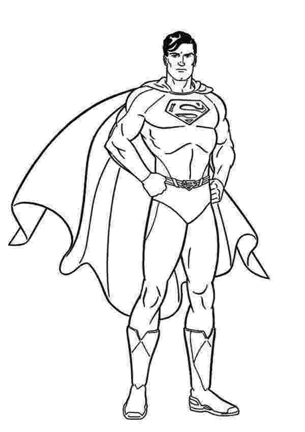 superman coloring pages free printable superman coloring pages for kids cool2bkids superman coloring pages