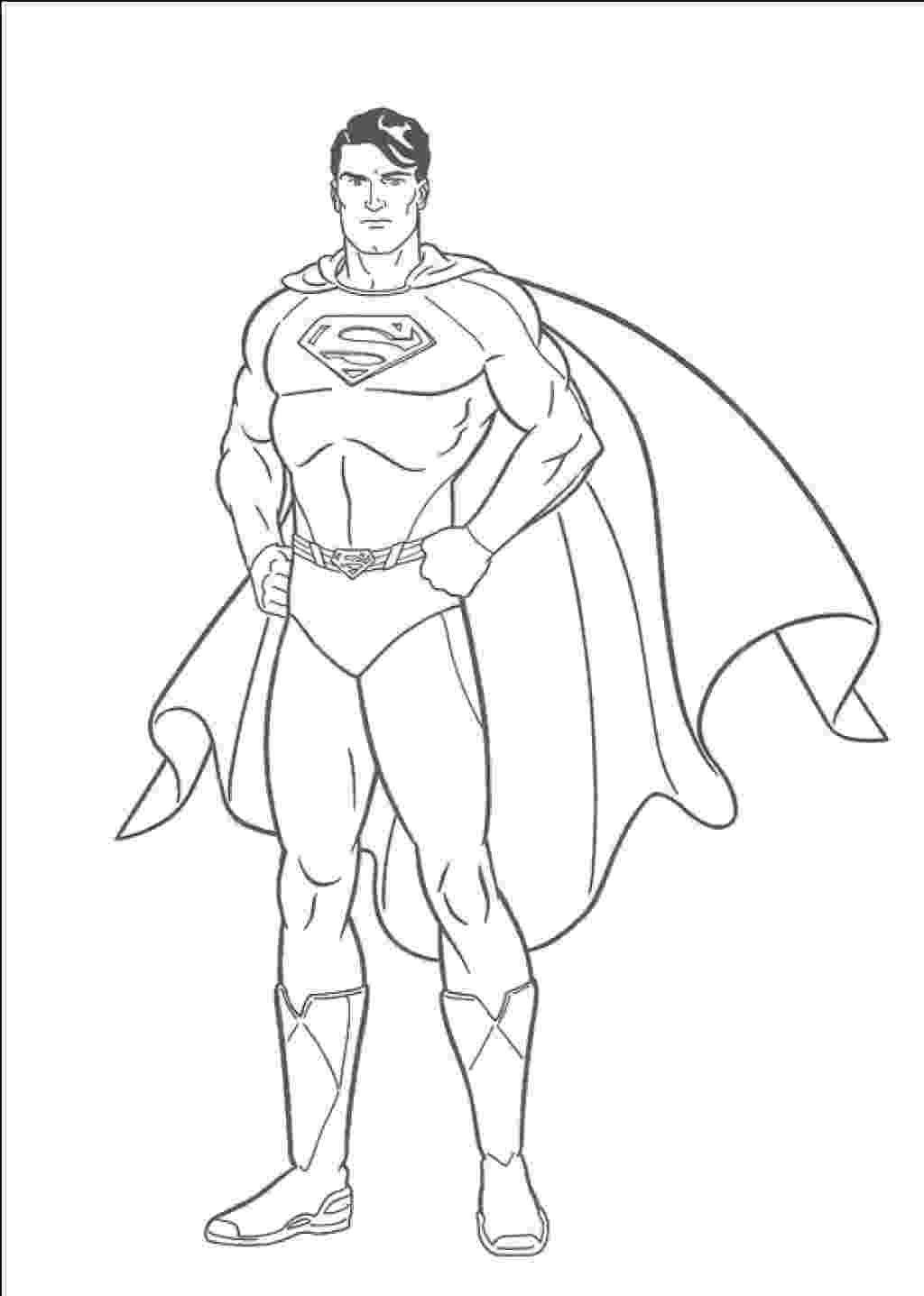 superman coloring pages free printable superman coloring pages for kids cool2bkids superman pages coloring