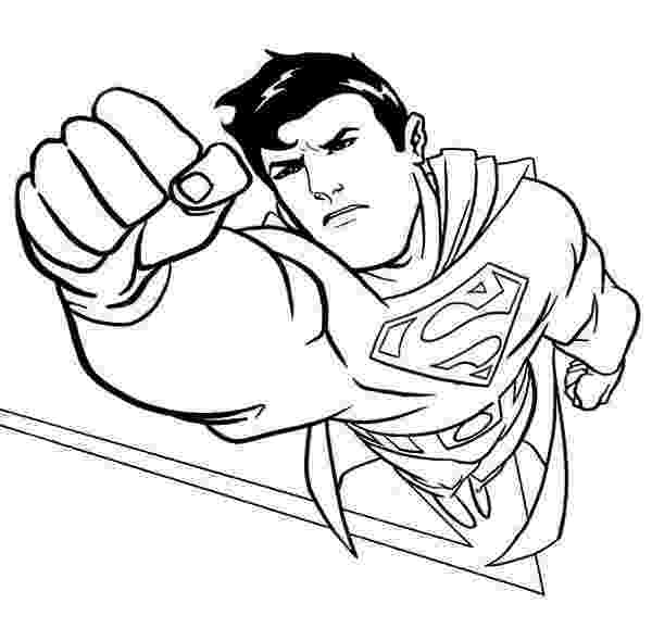 superman coloring pages superman free to color for children superman kids superman pages coloring