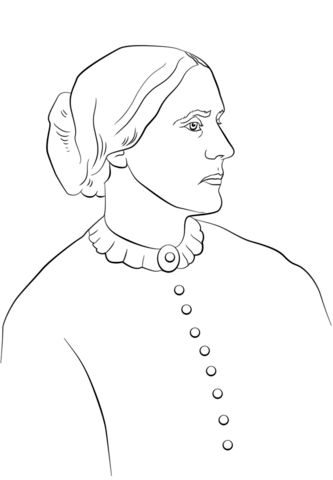 susan b anthony coloring sheet susan b anthony coloring page crayolacom sheet anthony b coloring susan