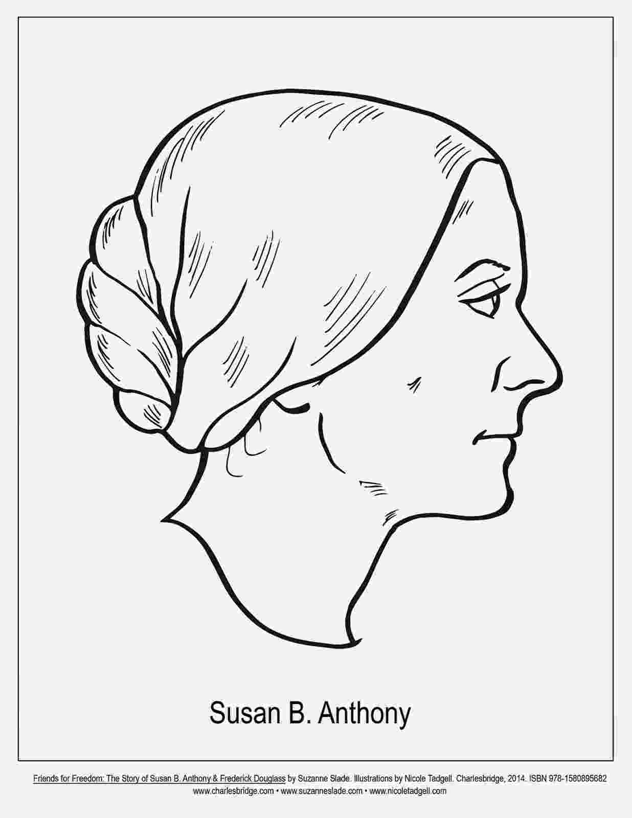 susan b anthony coloring sheet susan b anthony portrait pattern printable coloring pages b susan sheet coloring anthony