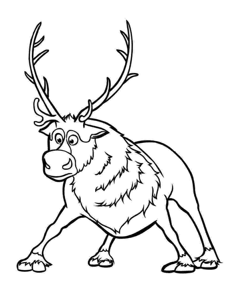 sven coloring pages christmas coloring pages pages sven coloring
