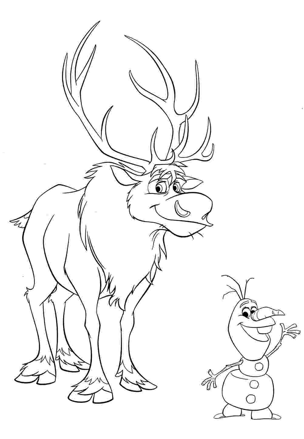 sven coloring pages frozen coloring pages sven 03 coloring pages sven
