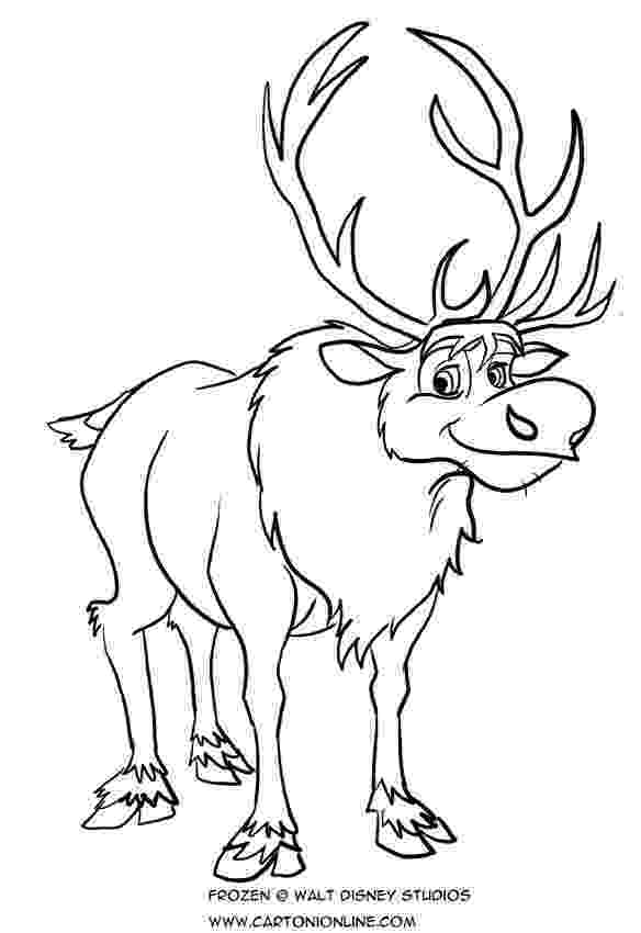 sven coloring pages frozen disney sven car interior design pages coloring sven