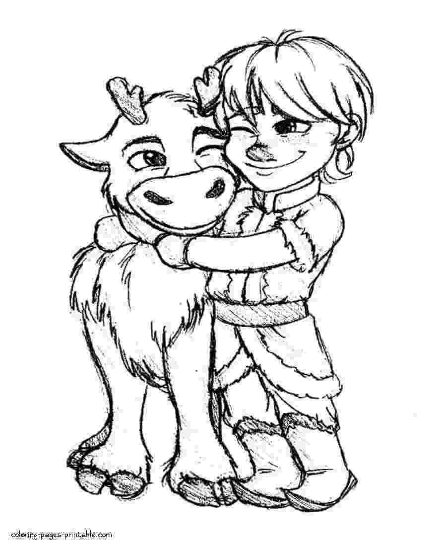 sven coloring pages sven frozen coloring pages at getcoloringscom free coloring sven pages