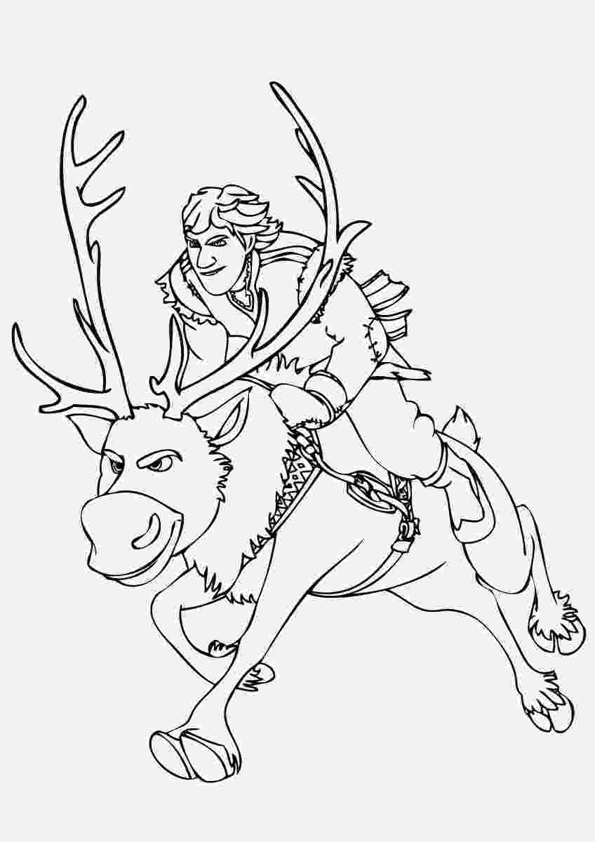 sven coloring pages sven frozen coloring pages for kids pages sven coloring