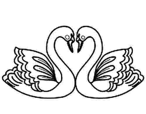 swan coloring beautiful swan coloring pages to girls swan coloring 1 1