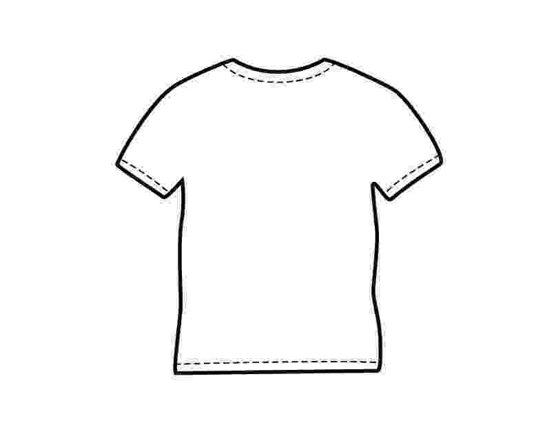 t shirt coloring page blank t shirt template for colouring clipart best shirt page t coloring