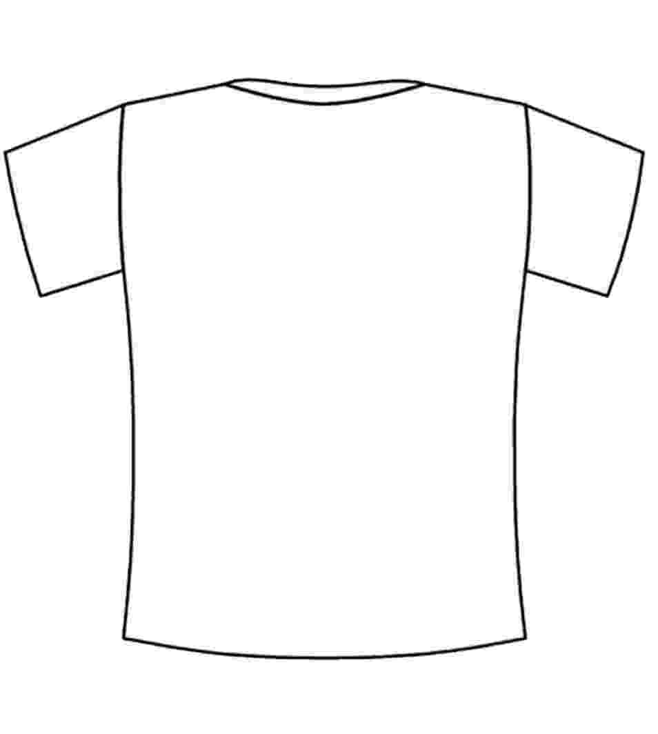 t shirt coloring page clothes colouring pages kiddicolour page t shirt coloring