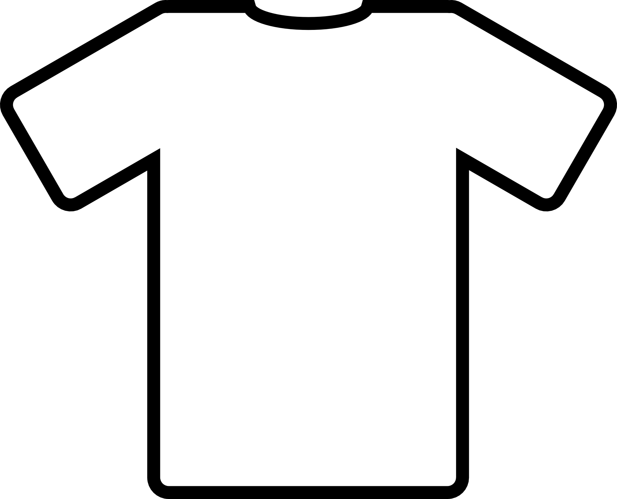 t shirt coloring page t shirt outline clipart for kids coloring clipart best shirt coloring t page