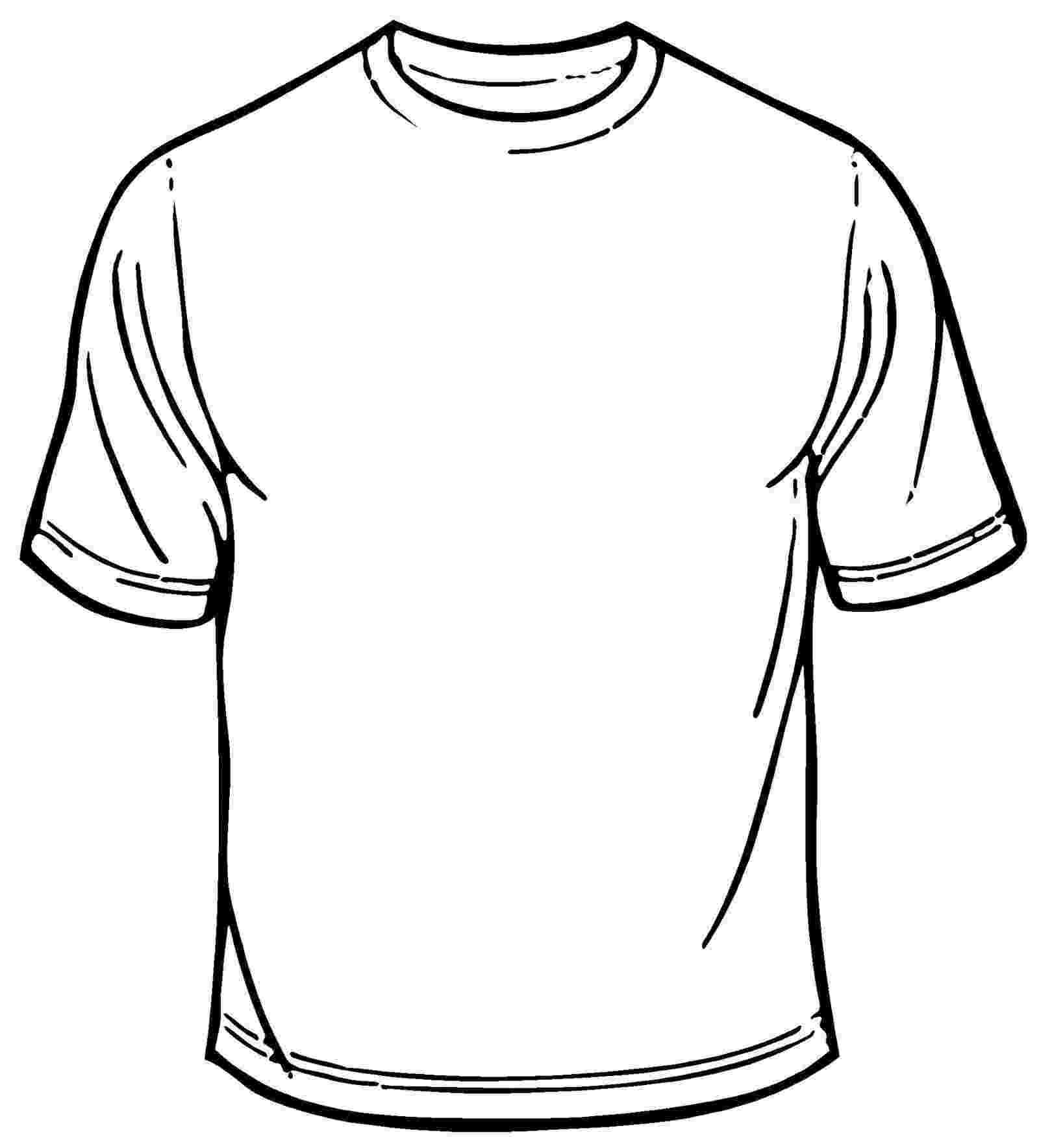 t shirt coloring page t shirt outline printable clipart best coloring t shirt page
