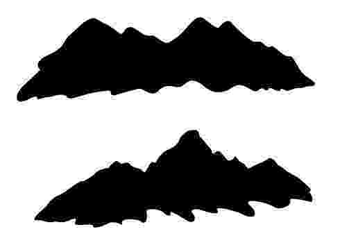 table mountain vector cape town illustrated maps mountain vector table
