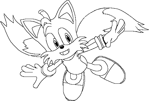 tails coloring pages tails coloring pages pages tails coloring