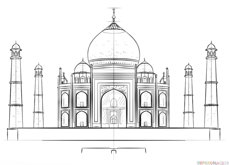 taj mahal sketch 163 best images about taj mahal on pinterest the golden sketch taj mahal