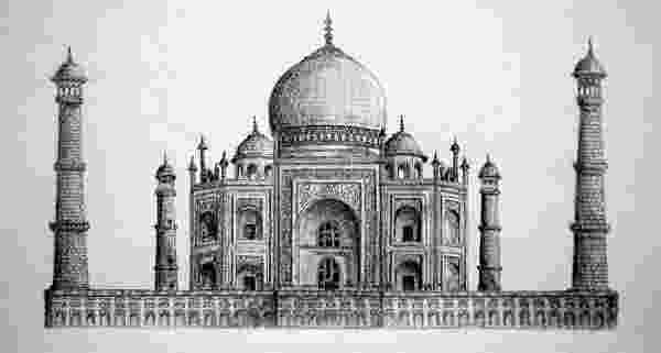 taj mahal sketch beautiful taj mahal drawings and sketches sketch mahal taj