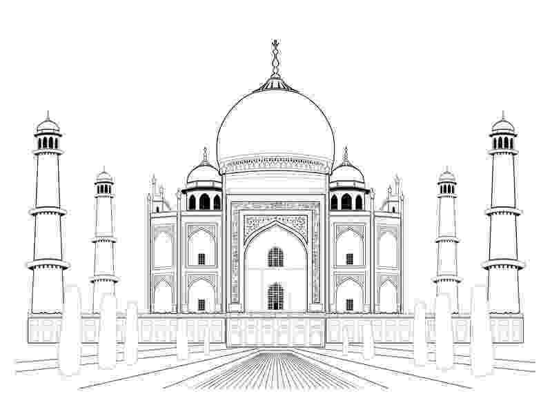 taj mahal sketch taj mahal drawing stock illustrations 342 taj mahal taj mahal sketch