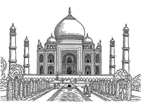 taj mahal sketch taj mahal sketch school beautification architecture mahal sketch taj