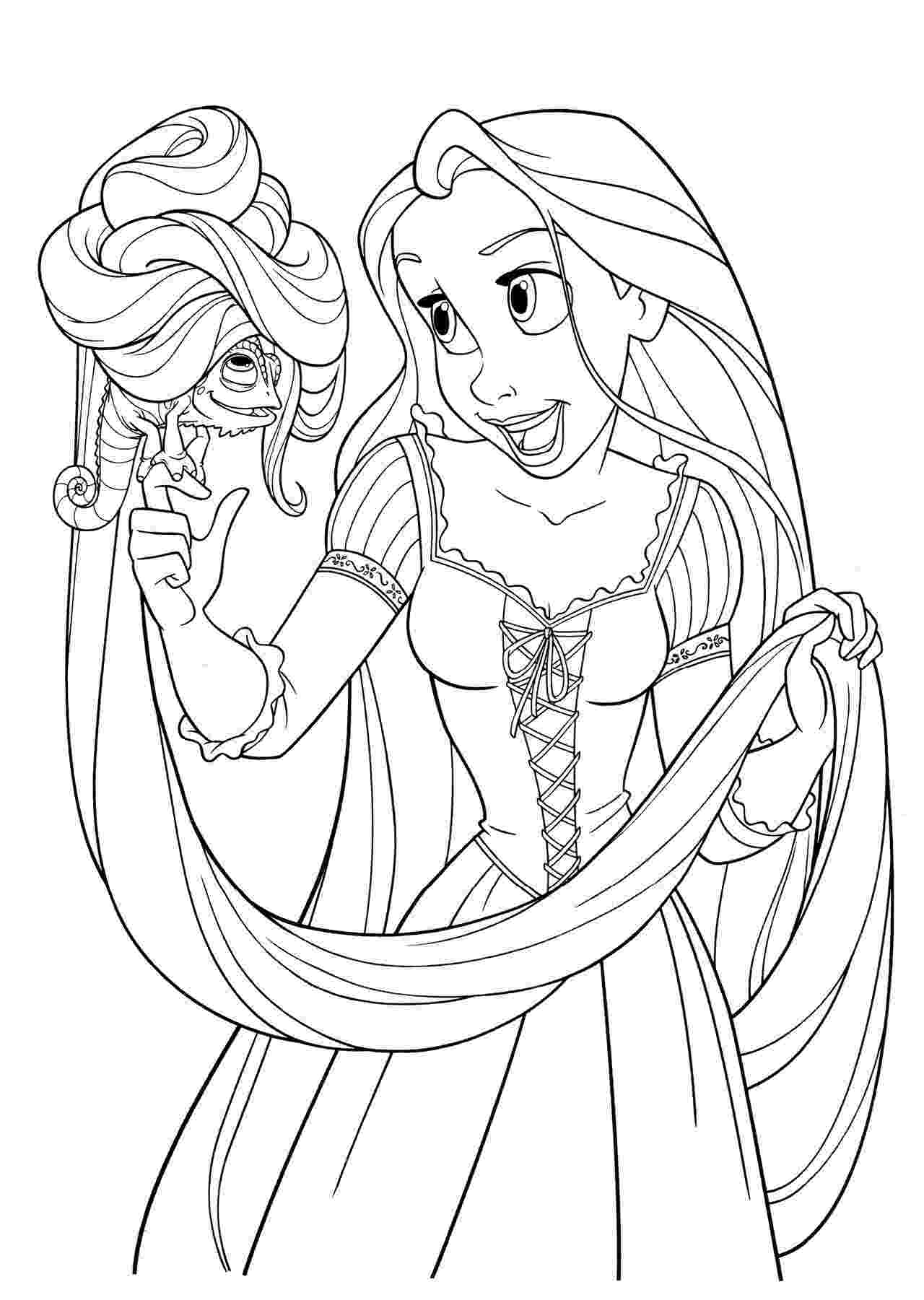 tangled coloring sheets free printable tangled coloring pages for kids cool2bkids sheets tangled coloring