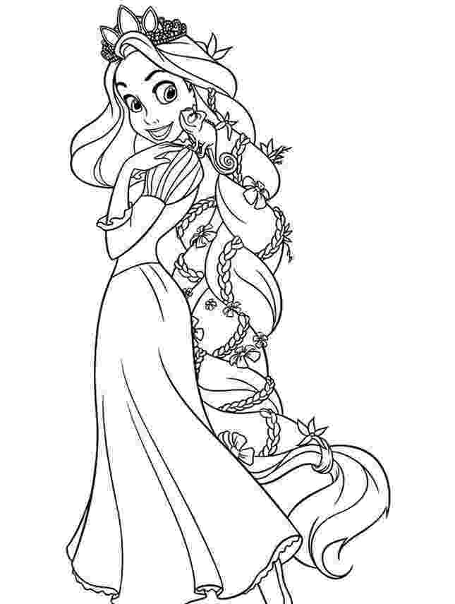 tangled coloring sheets free printable tangled coloring pages for kids cool2bkids sheets tangled coloring 1 1