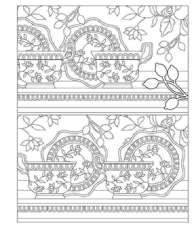 tea party coloring pages elegant tea party coloring book to color garden coloring tea party pages