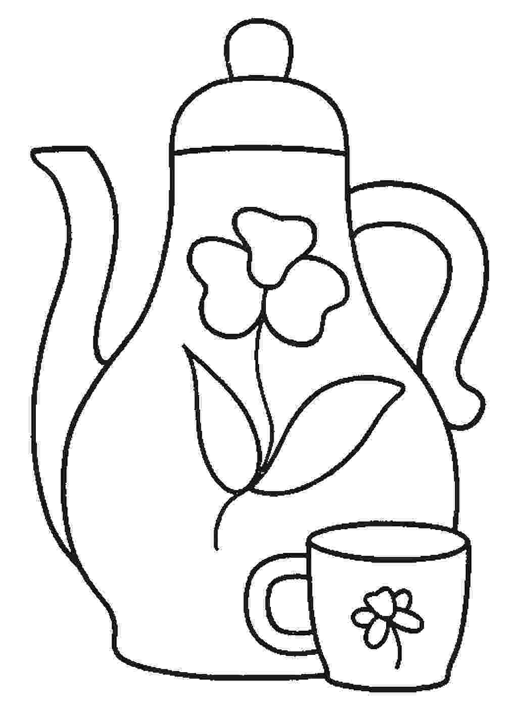 tea party coloring pages tea party coloring pages tea party coloring pages