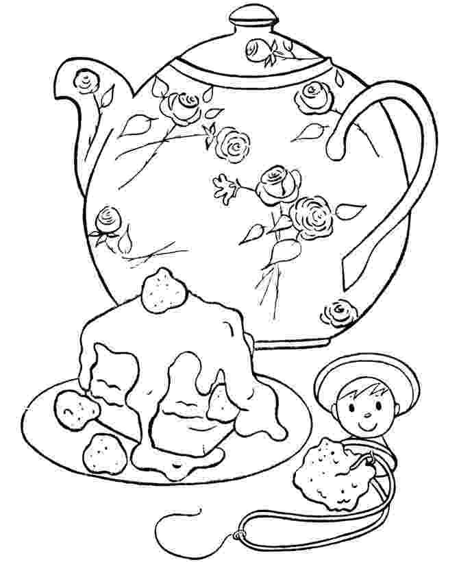 tea party coloring pages tea party coloring pages to download and print for free party tea pages coloring