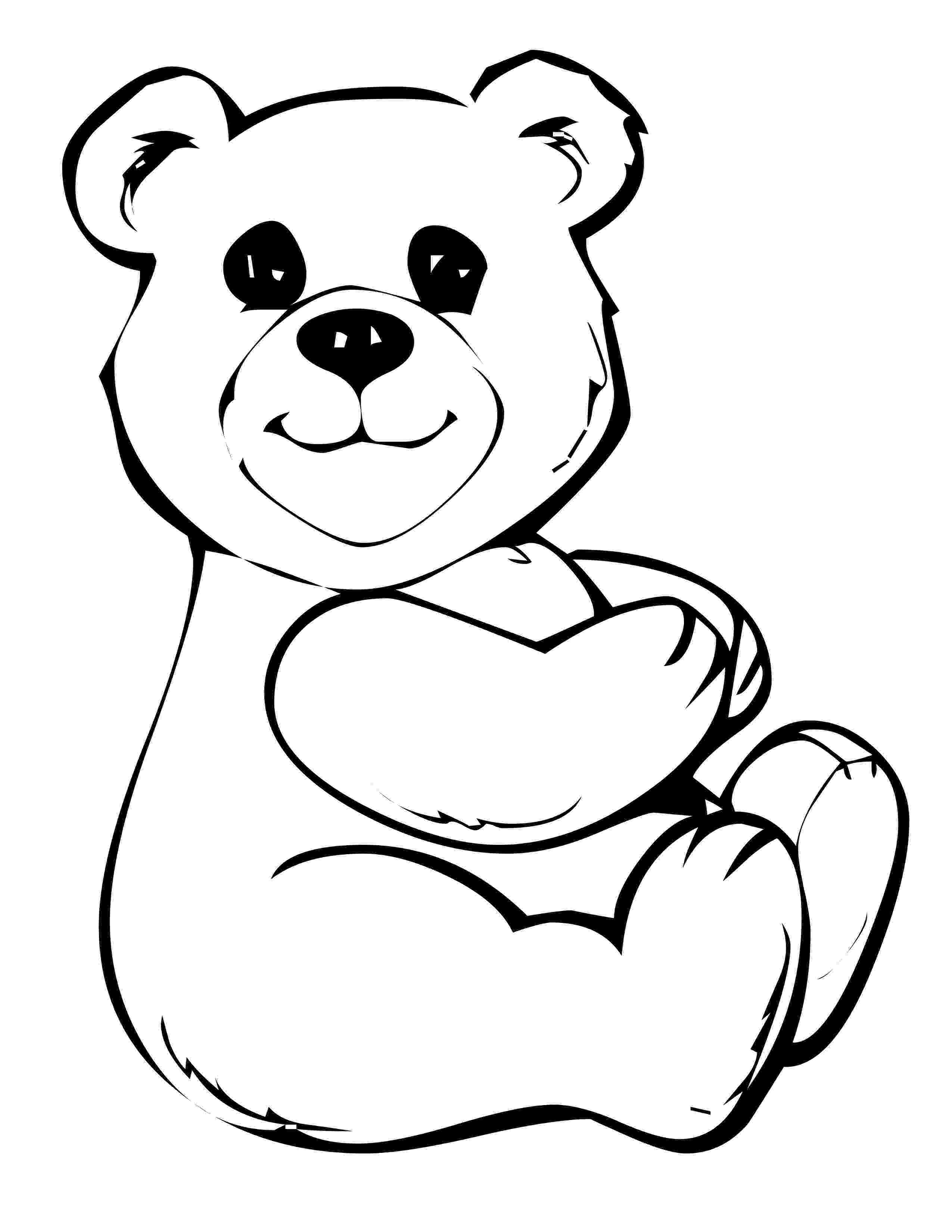 teddy bear coloring pictures free printable teddy bear coloring pages for kids pictures bear coloring teddy