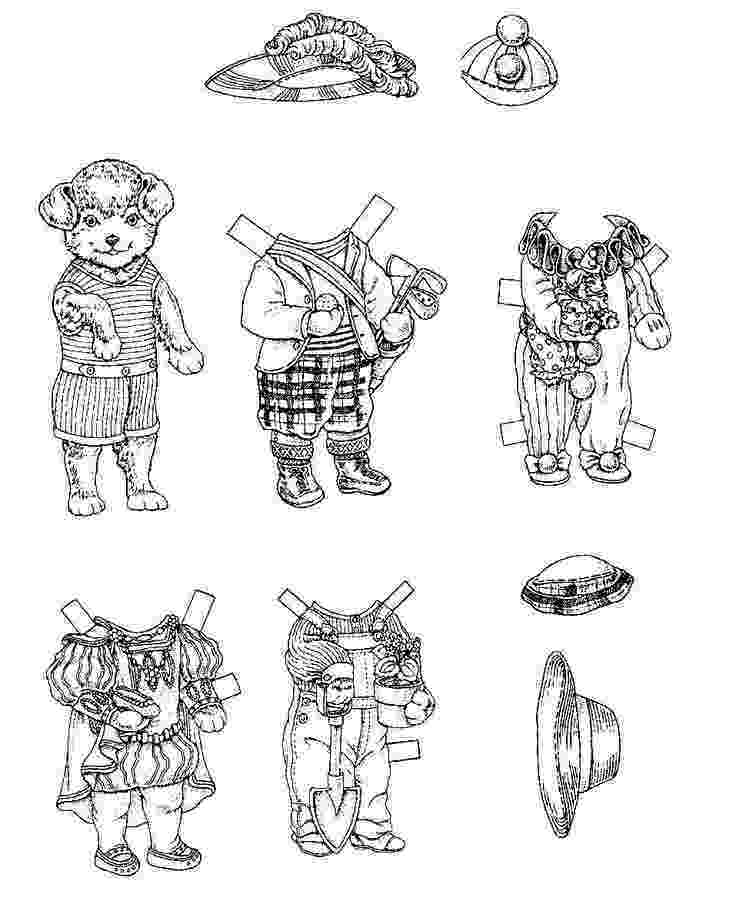 teddy bear paper dolls 1706 best images about paper dolls animals and teddy bears bear dolls paper teddy
