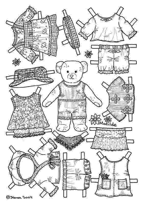 teddy bear paper dolls 2326 best images about paper dolls on pinterest paper bear paper dolls teddy