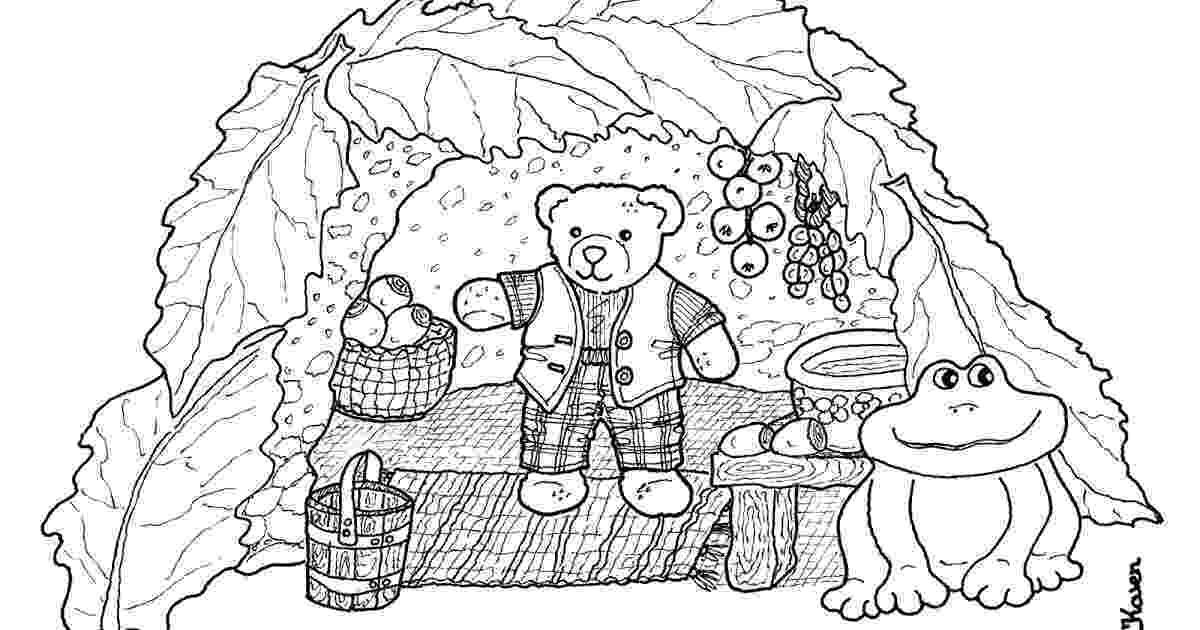 teddy bear paper dolls karens paper dolls teddy bear cave cutouts to print and bear paper teddy dolls