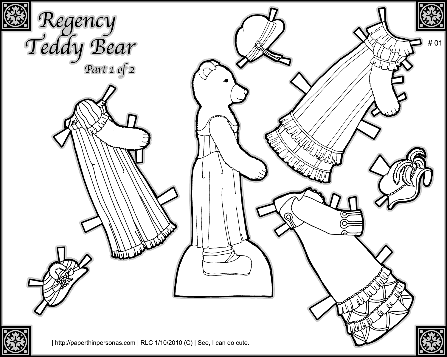 teddy bear paper dolls mostly paper dolls paper dolls dreaming of outer space dolls paper bear teddy