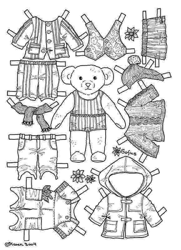 teddy bear paper dolls pin by jennifer buxton on vipkid paper dolls printable paper bear dolls teddy