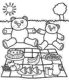 teddy bears picnic colouring 1000 images about workshop teddy bears picnic on picnic colouring bears teddy