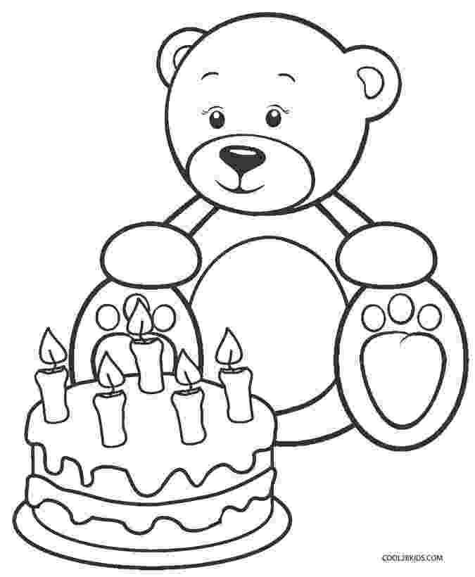 teddy bears picnic colouring printable teddy bear coloring pages for kids cool2bkids teddy colouring bears picnic