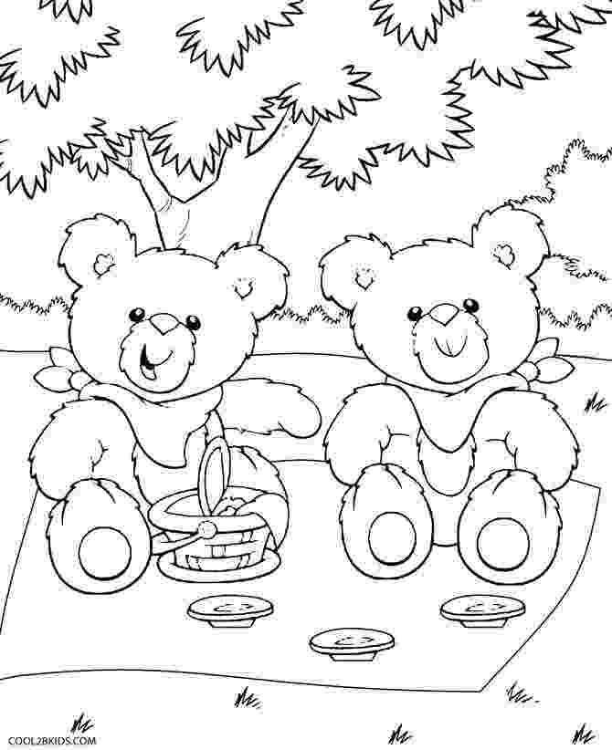 teddy bears picnic colouring teddy bear picnic in studio photo shoot google search bears teddy picnic colouring