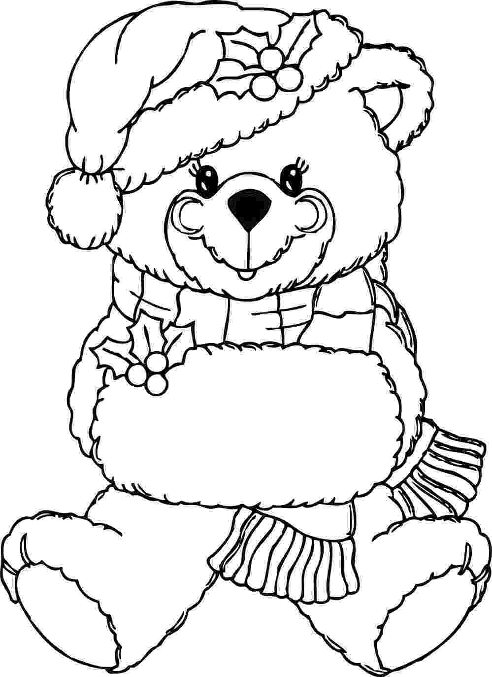 teddy to colour free printable teddy bear coloring pages for kids to colour teddy 1 1