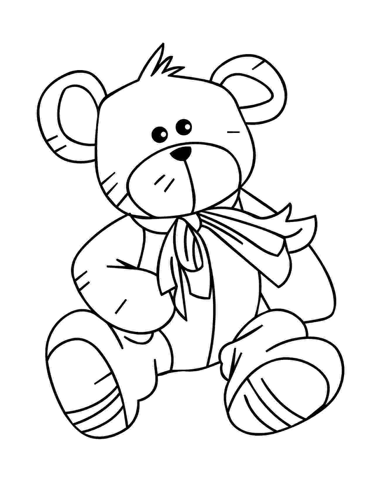 teddy to colour free printable teddy bear coloring pages technosamrat to teddy colour