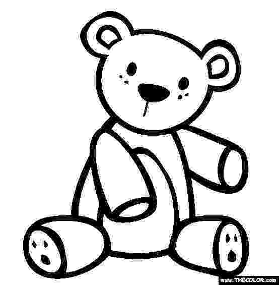 teddy to colour printable teddy bear coloring pages for kids cool2bkids to teddy colour 1 1