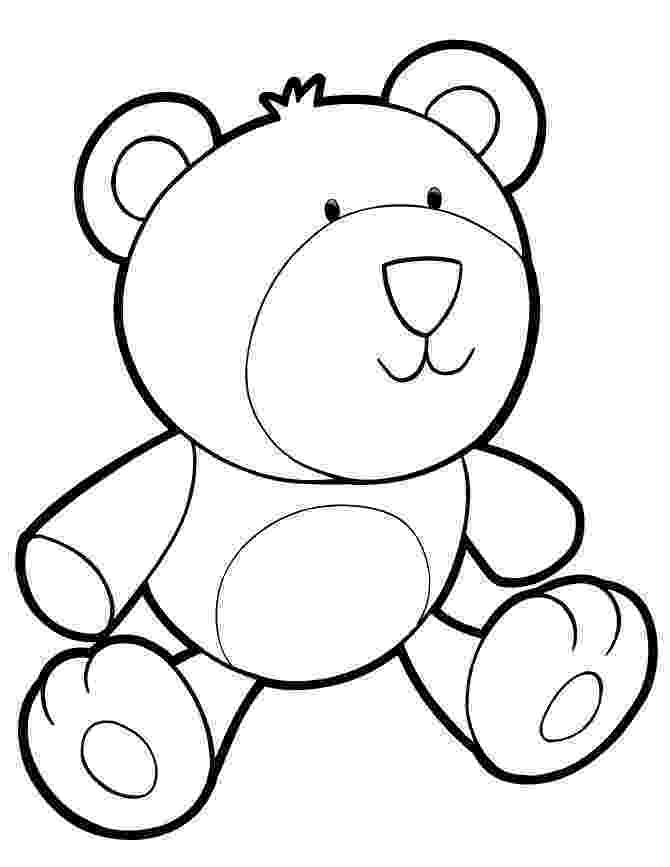 teddy to colour teddy bear coloring pages for kids teddy colour to 1 1