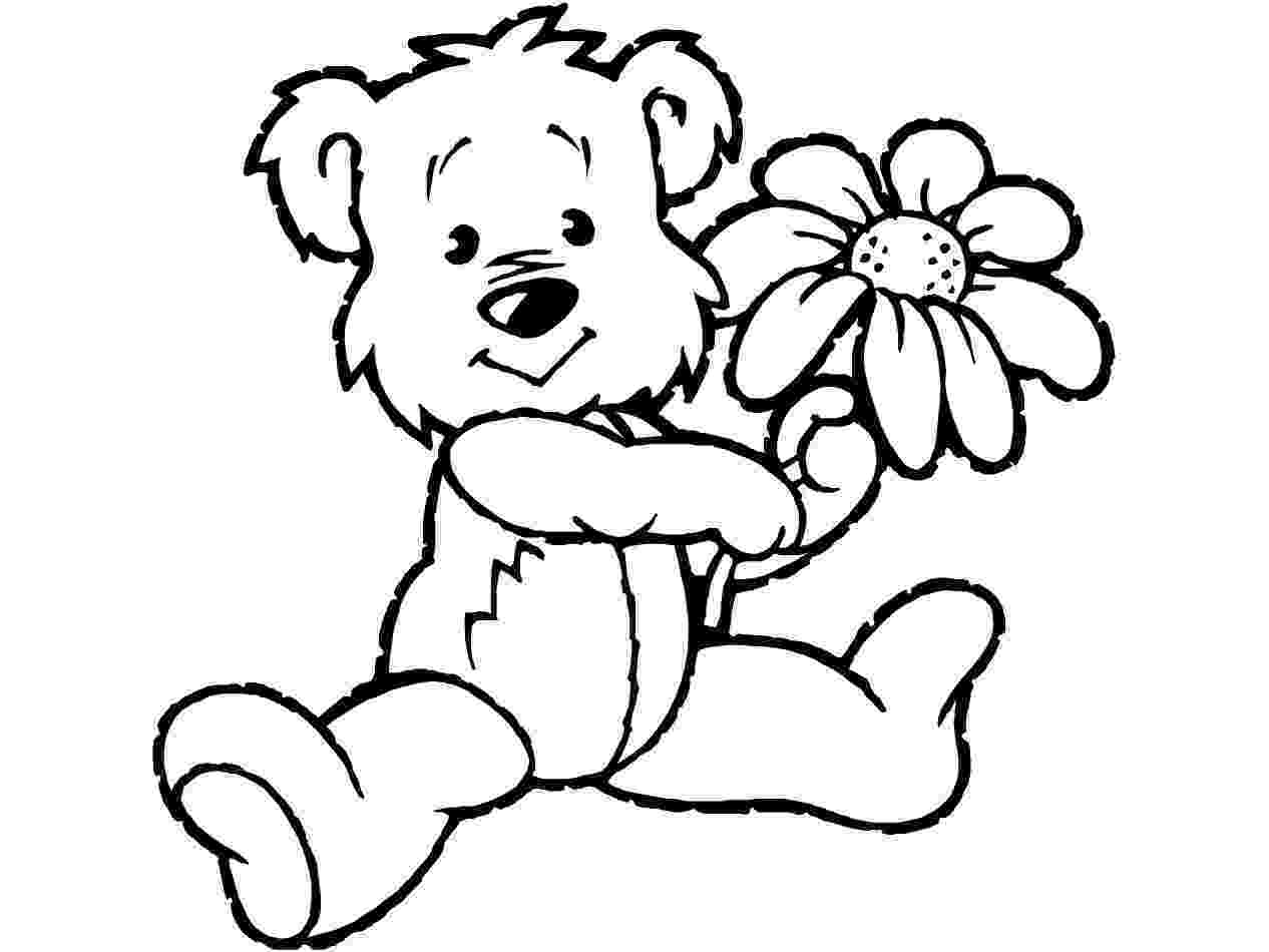 teddy to colour teddy bear coloring pages theme free printable teddy teddy colour to
