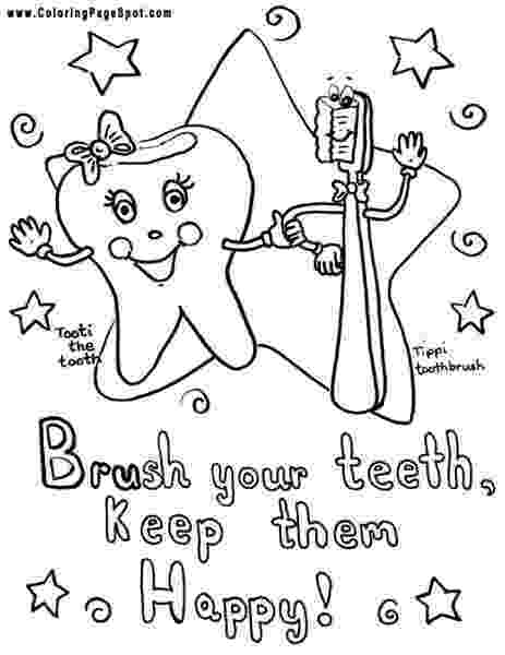 teeth coloring page brush your teeth coloring page at getcoloringscom free coloring teeth page