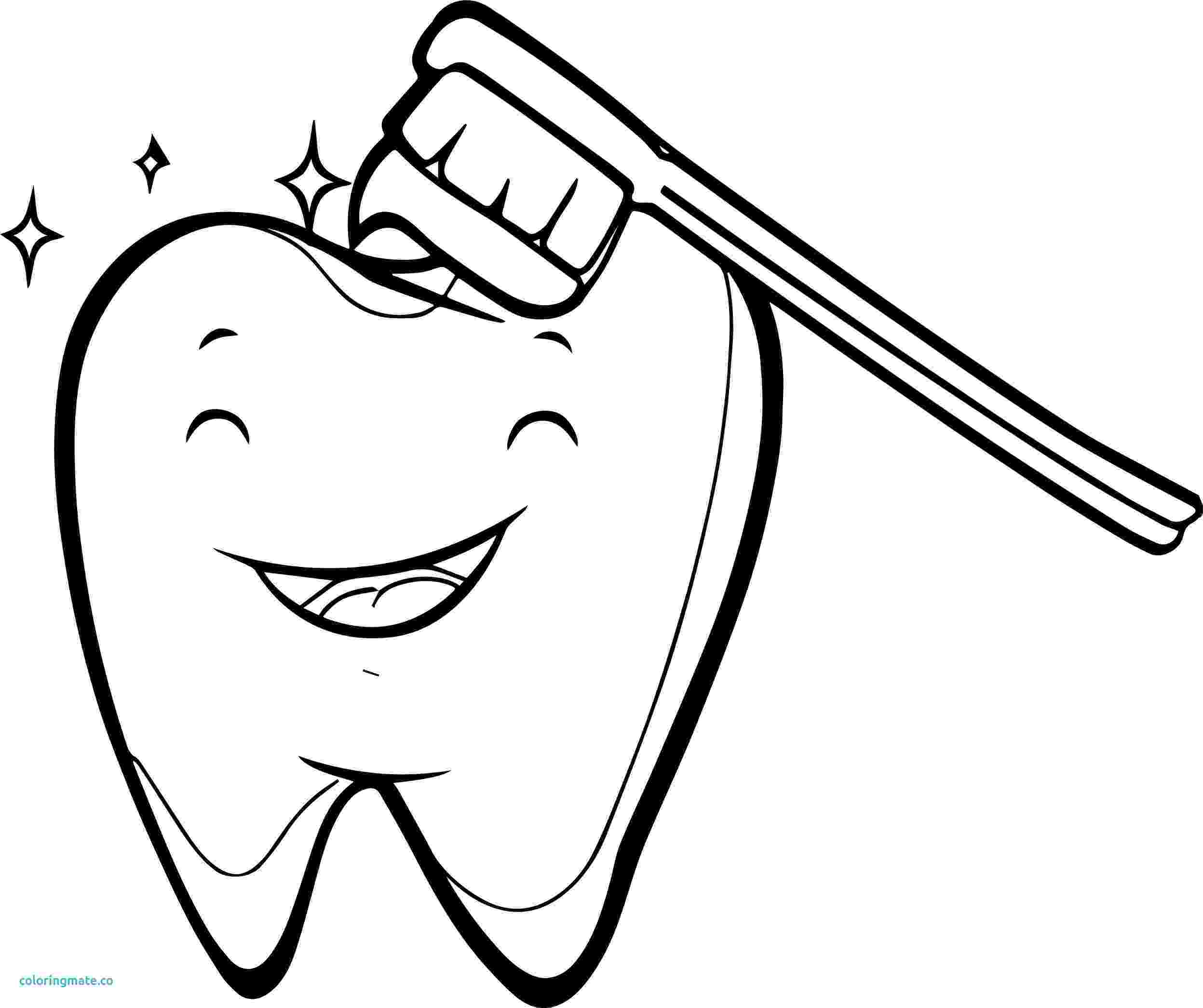 teeth coloring page free easy printable coloring pages about teeth coloring home teeth coloring page