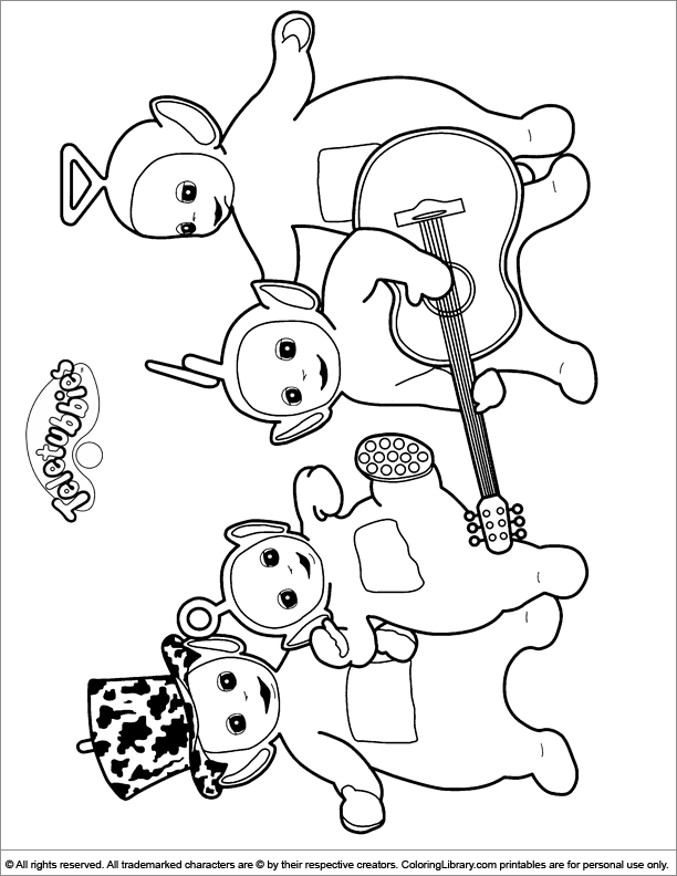 teletubbies colouring pictures to print teletubbies coloring pages chocolate bar teletubbies colouring print pictures to