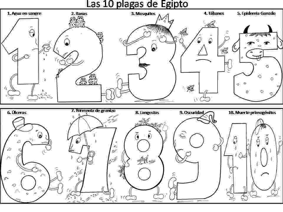 ten plagues of egypt coloring pages lunchbox matching game for pesach sunday school kids ten plagues coloring egypt pages of